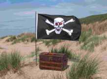 Death of a Pirate (teen version), a Mystery Party for Teens